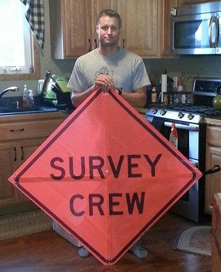 A picture of Vector Surveying Services Ohio licensed Professional Surveyor, Tim Hozalski, P.S.